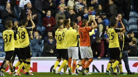 Rangers knocked out of Europa League by Luxembourg part-timers