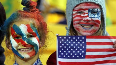 USA rugby fans
