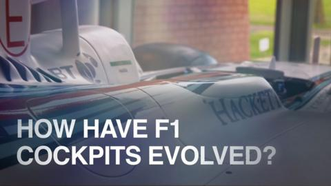 F1 cockpits