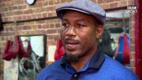 Former three-time world heavyweight champion Lennox Lewis