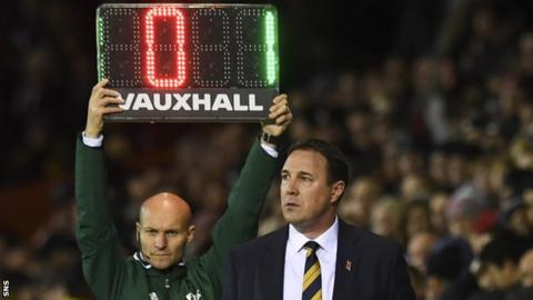 Interim Scotland manager Malky Mackay