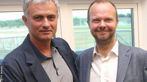 Mourinho and Ed Woodward