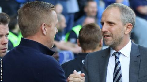 Paul Trollope and Garry Monk