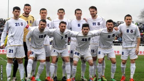 Kosovo line-up to face Haiti