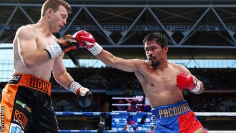 No pay yet for Pacquiao, Roach from Arum