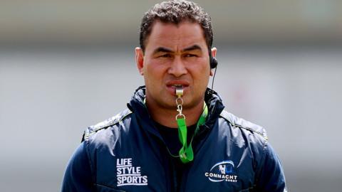 Connacht coach Pat Lam