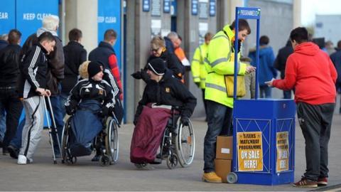 Disabled fans