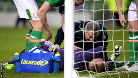 Rob Elliot Republic of Ireland