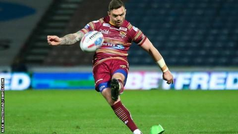 Danny Brough landed five of his seven conversions on his return after suspension