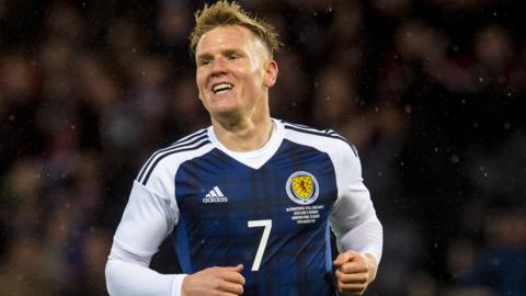 Scotland international Matt Ritchie