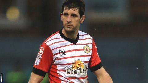 Crewe Alexandra midfielder Danny Hollands
