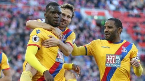 Benteke scores for Crystal Palace