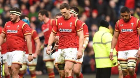 Wales after losing to Scotland