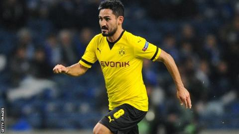 German midfielder Ilkay Gundogan