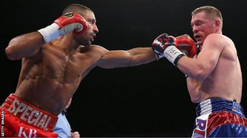 Kell Brook to face middleweight king Gennady Golovkin in London