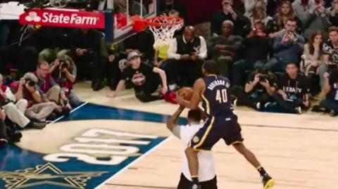 NBA All-Star basketball - Slam Dunk challenge