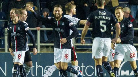 Lee Miller equalised for Falkirk