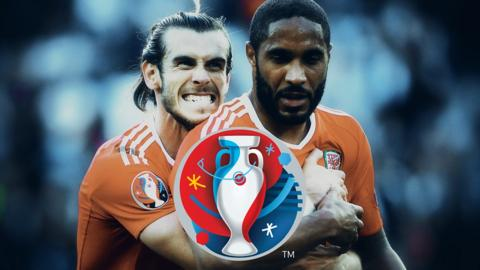 Gareth Bale and Ashley Williams