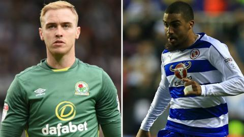 Jason Steele and Lewis Grabban