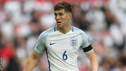 Manchester City and England defender John Stones