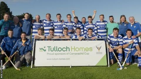 Newtonmore were too strong for Skye