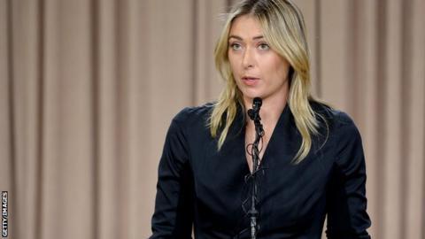 Sharapova slams media coverage of doping case