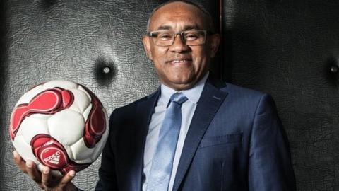Ahmad Ahmad of Madagascar