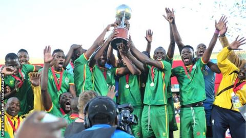 Zimbabwe crowned Cosafa Castle Cup champions after beating Zambia in final