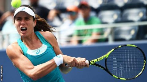 US Open first-round defeat tough to take - Konta
