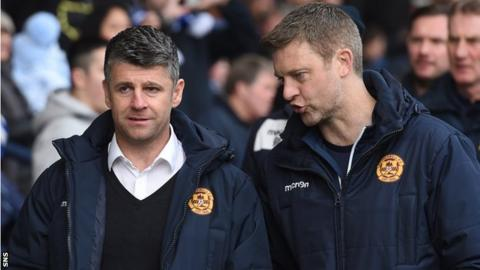 Stephen Robinson and Stephen Craigan