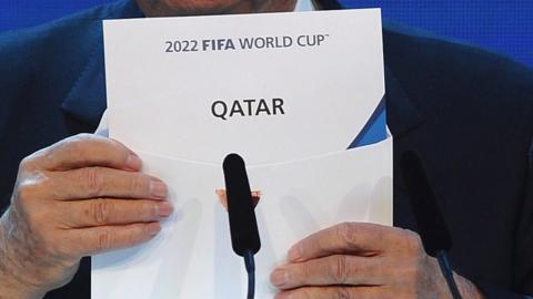 Fifa World Cup 2022 bid
