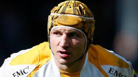 Wasps initially signed Italy international hooker Carlo Festuccia from Zebre in 2013