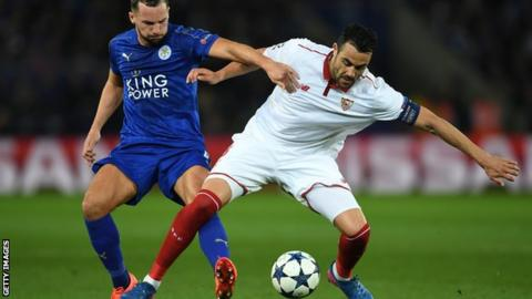 Sevilla midfielder to sign for Leicester City