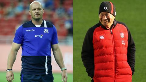 Gregor Townsend and Eddie Jones