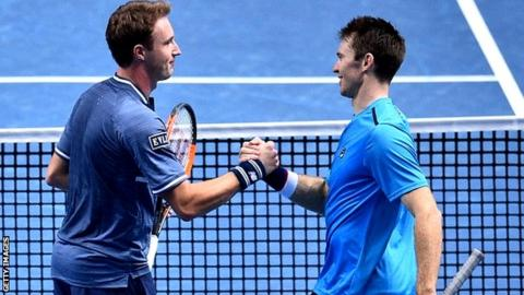 Jamie Murray and Bruno Soares beaten in doubles semi-finals — ATP Finals