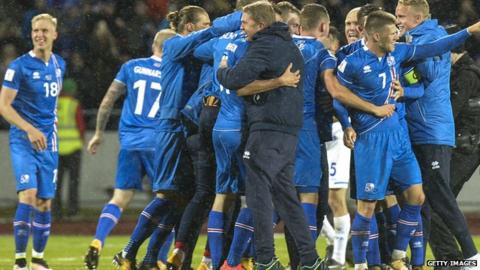 Iceland became the smallest nation to progress to a World Cup after beating Kosovo to win their qualifying group