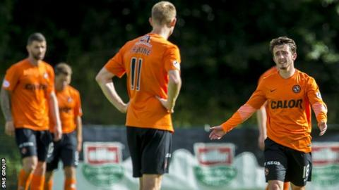 Dundee United lost 4-0 at Hamilton Saturday