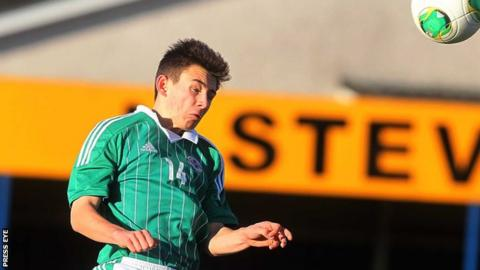 Stephen Fallon is a Northern Ireland youth international
