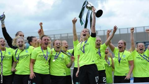 Hibs beat Celtic in SWPL Cup final