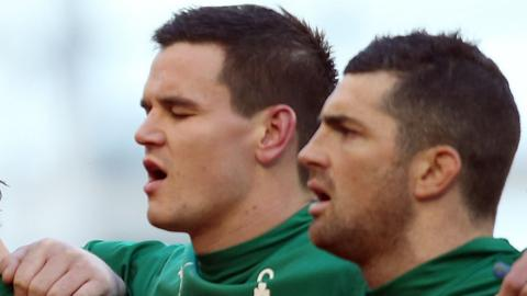 Johnny Sexton and Rob Kearney