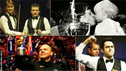 Higgins' tears, 147s & the black-ball final - vote for your most memorable Crucible moment