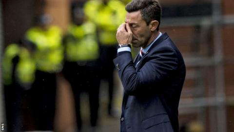 'I assume all responsibility' - Caixinha sorry after Rangers defeat by part-timers