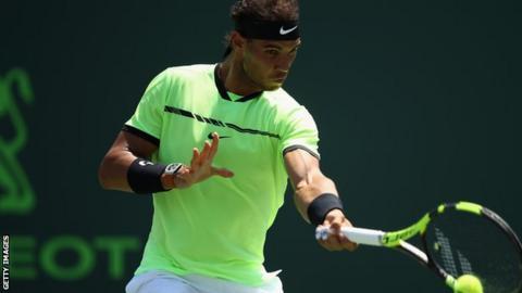 Nadal powers past Fognini into Miami Open final