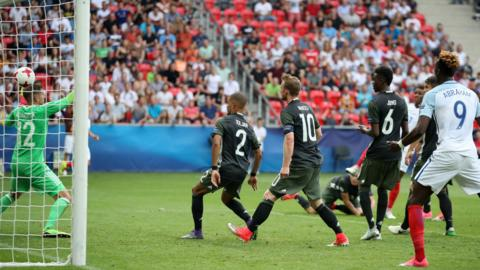 Gray equalises for England
