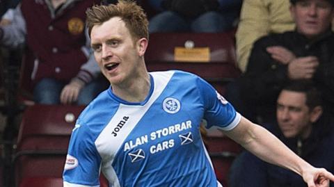 St Johnstone midfielder Liam Craig