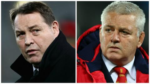 Steve Hansen and Warren Gatland