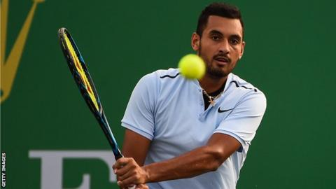 Kyrgios quits match after losing tie-break