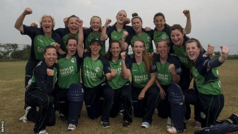 Ireland's women have qualified for next year's World Twenty20 in India