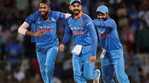 India beat Australia in the 1st ODI