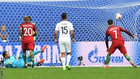 Confederations Cup: Portugal beat New Zealand to enter semi-finals